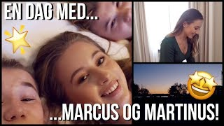 VLOG! Henger med Marcus og Martinus!!!!