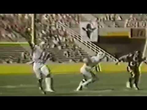 1985 ESPN: Tom Mees Profiles the Mobile USFL QB