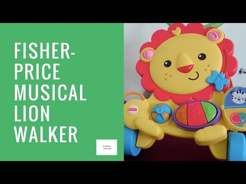 Fisher-Price Musical Lion Walker Review
