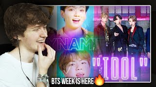 BTS WEEK IS HERE! (BTS 'Idol & Dynamite' Live on Tonight Show with Jimmy Fallon | Reaction/Review)