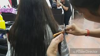 Advance Deep U shape haircut/easy & simple method step by step(only 5 minutes haircut) for long hair