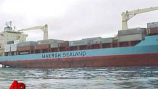Hijacked Ship on the Move, Navy on Board