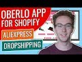 Oberlo App For Shopify - AliExpress Dropshipping: A Step-by-Step Guide
