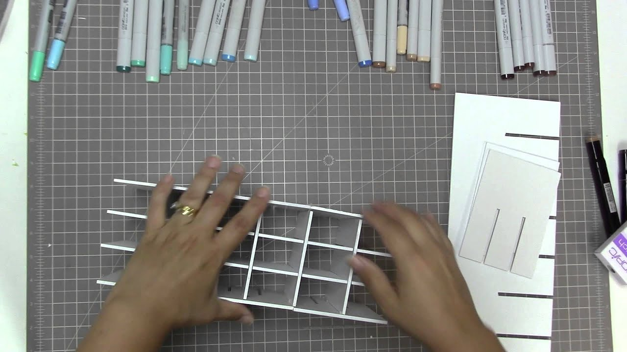 Scraproom Sunday Copic Marker Storage Youtube
