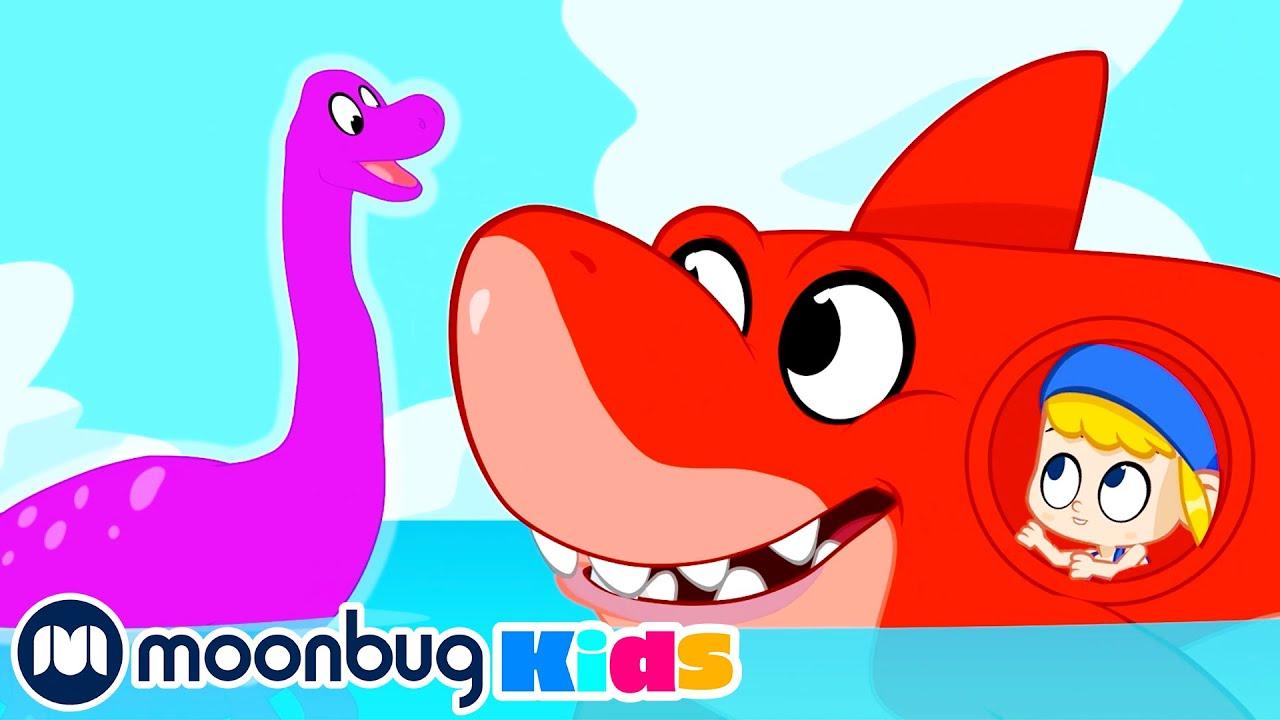 Morphle em Português | Nessie! O Dinossauro Aquático | Desenho Animado