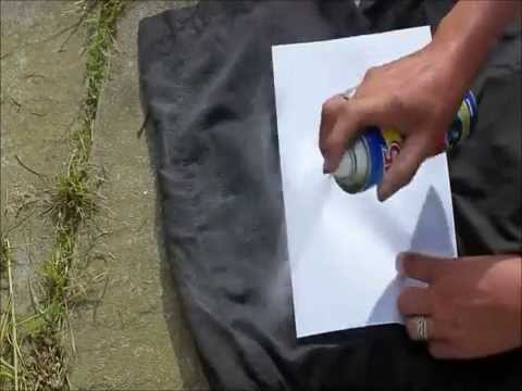 Lidls W5 Waterproof Spray Test By The Ferrets Variety Channel