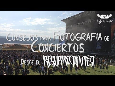 Tips Fotografía de Conciertos - En el Resurrection Fest
