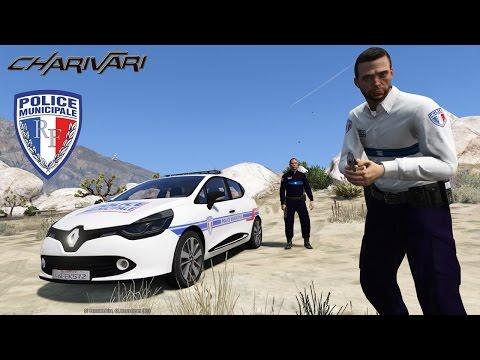 GTA 5 LSPDFR - POLICE MUNICIPALE - RENAULT CLIO 4 - PATROUILLE 04