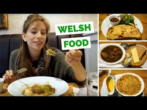 Welsh Food - 4 Things to Eat Taste Test in Cardiff, Wales