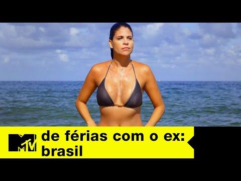 Gui recebe ex na casa  De Férias com o ex Brasil Ep 5