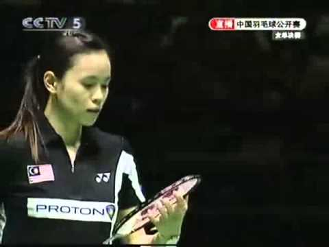 2007 China Super Series WS Final - Xie Xinfang[CHN] Vs Wong