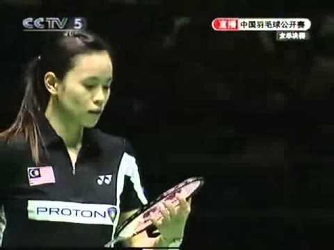 2007 China Super Series WS Final - Xie Xinfang[CHN] Vs Wong Mew Choo[MAS]