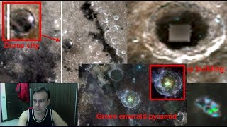 Emerald Dome On Moon! With Two other black domes! NASA link! July 2018, UFO Sighting Daily News.