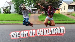 The Git Up Challenge | Blanco Brown | Couple Edition!