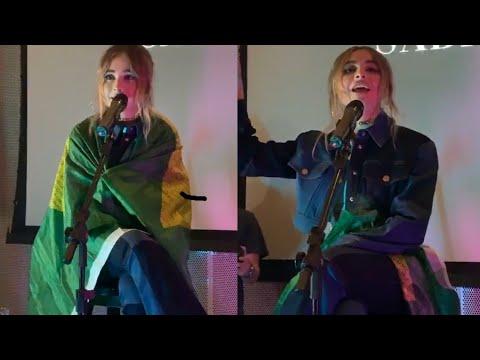 Sabrina Carpenter performing in Brazil - Top Magazine Livestream
