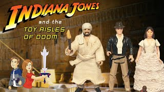 indiana jones toys of the 1980s vintage toy review kenner ljn hasbro