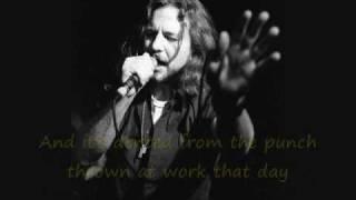 Pearl Jam - Unemployable (Lyrics)