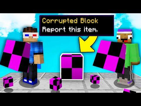 Spawning CORRUPTED BLOCKS