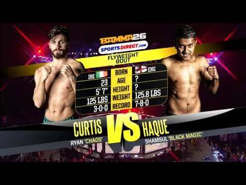 Ryan Curtis vs Shamsul Haque - BAMMA 26