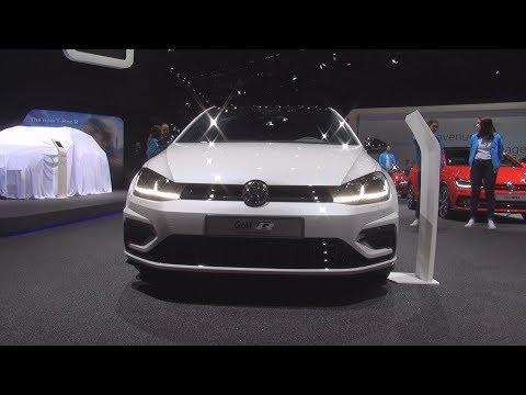 Volkswagen Golf R SwissLine R-Line 2.0 TSI 300 Hp 7DSG (2019) Exterior And Interior