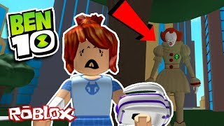 PENNYWISE (IT Clown) TROLLS BACONHAIR IN ROBLOX (Ben 10 Arrival Of Aliens)