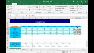 Formatieren Sie die Zahlen des Zellbereichs L5:L9, so dass sie als Prozentsätze mit einer...