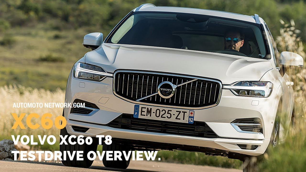 2018 Volvo XC60 T8 Twin Engine Inscription Luxe - White Crystal Metallic | Interior, Exterior ...
