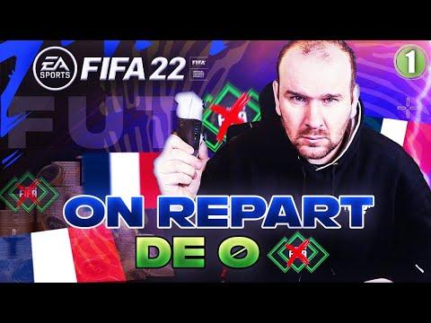 FIFA 22 - ON REPART A 0 ! DES BONS PACKS ET DECOUVERTE DU GAMEPLAY (Je suis NUL !!) #1