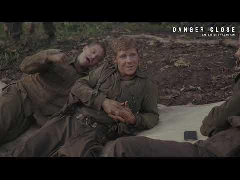 Danger Close BTS - Travis Fimmel, Daniel Webber, Nicholas Hamilton, Alexander England