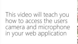 How To Access Webcam and Microphone Using getUserMedia in JavaScript