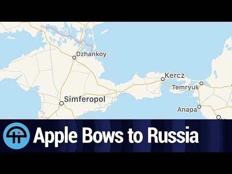 Apple Does Russia's