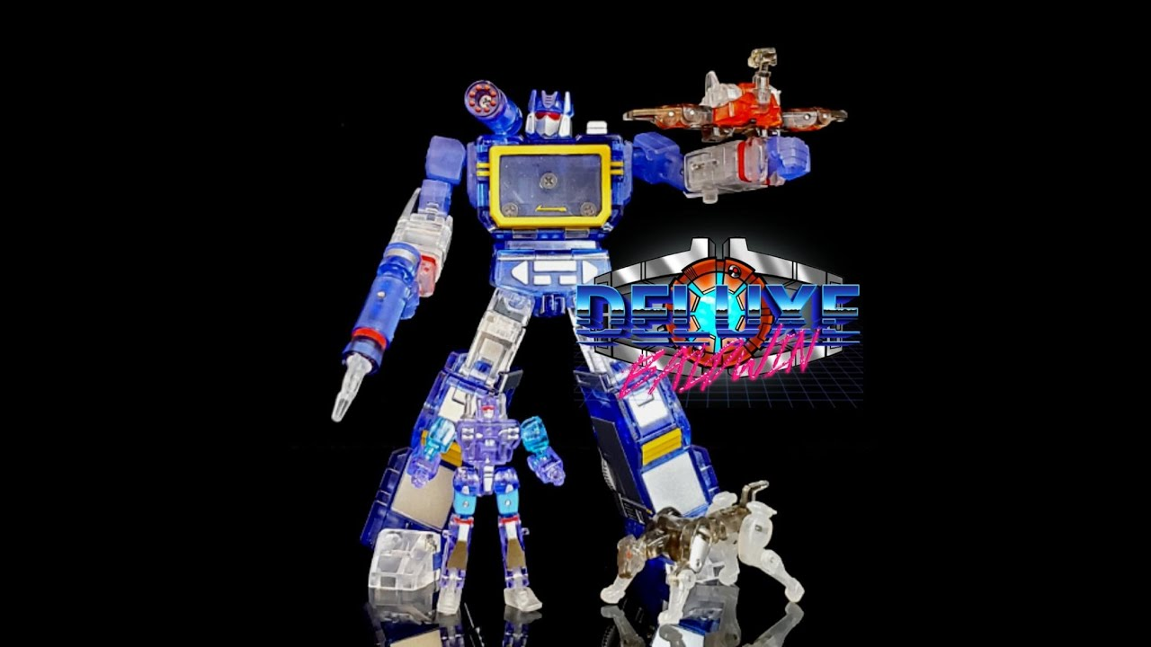 NewAge Toys Clear Scaramanga (G1 Soundwave) Review by Deluxe Baldwin