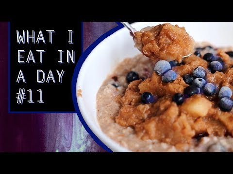 What I Eat In A Day #11 ⋆ VEGAN + EASY