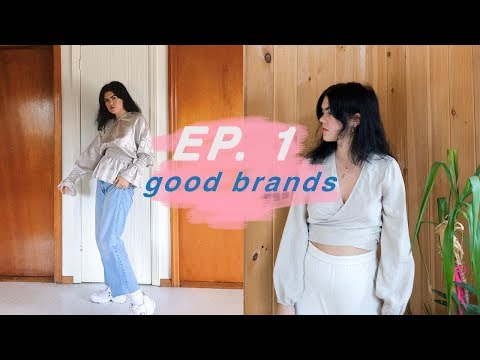 Sustainable Fashion Haul and Brands to Know