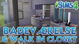 The Sims 4 - Room Build (#1.1) - Badeværelse & Walk In Closet