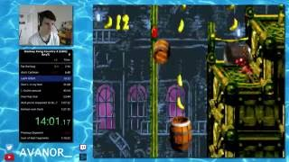 Donkey Kong Country 3 (GBA) any% Speedrun in 1:20:40 [WR]