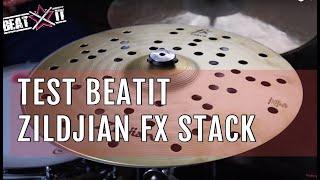 """BeatIt Test: 14"""" Zildjian FX Stack"""