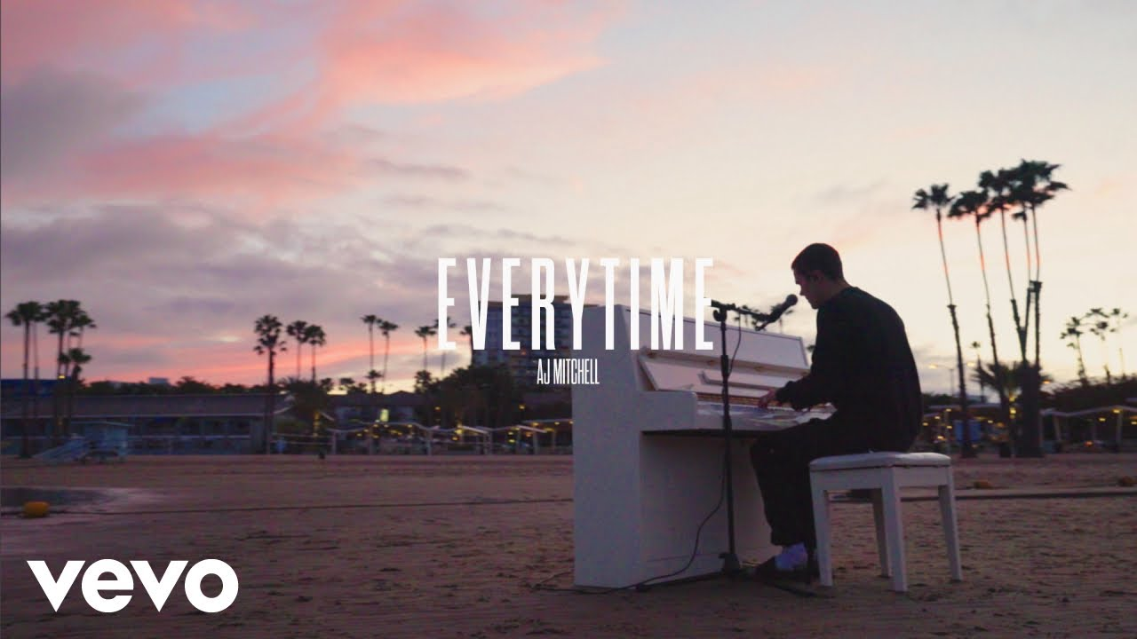 AJ Mitchell - Everytime (Cover) (Music Video)