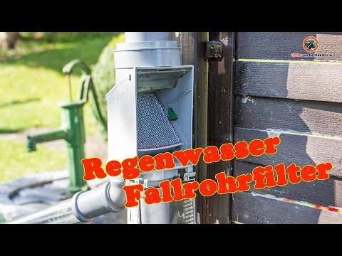 Regenwasserfilter / Fallrohrfilter verbessern