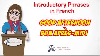 Online French Lessons via Skype - California Lingual Institute