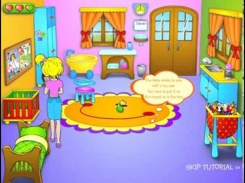 Детский Сад - Бесплатные онлайн игры для девочек на