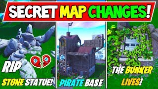 "'NOUVEAU' FORTNITE SECRET MAP CHANGES v8.00! - ""LOVE STORY TRAGIC END"" - ""BUNKER"" (Saison 8 Storyline)"