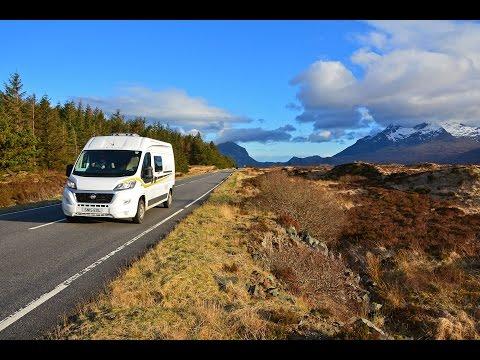 Epic Road Trip Through Scotland