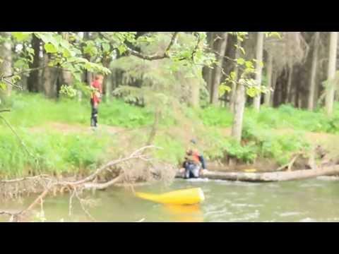 Rafting Campbell Creek Alaska