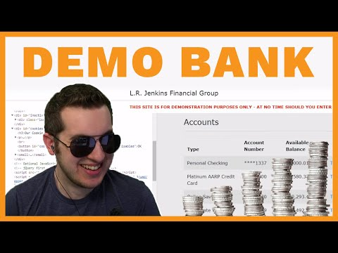 Showing Scammers Their Own Demo Bank