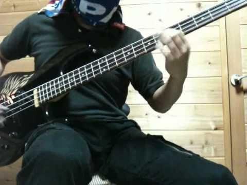 X JAPAN 紅(kurenai) BASS Cover 音質向上