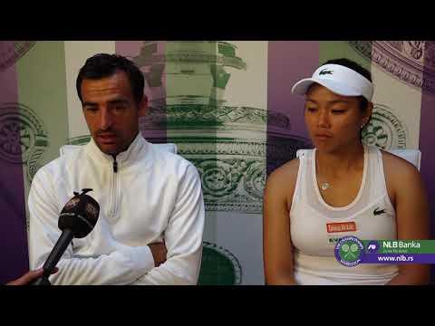 Wimbledon 2019 | Dodig i Chan Nakon Osvajanja Titule u Mix Dublu | SPORT KLUB Tenis
