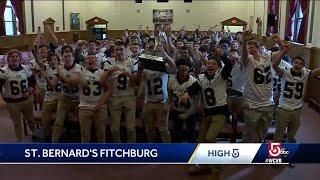 High 5: St. Bernard's High School football team