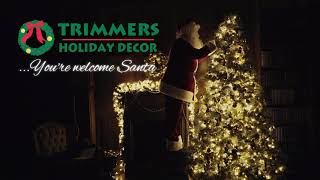 Trimmers Holiday Decor's Santa Inspection
