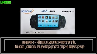 Gabriel Yuri turtoriais - UNBOX - Video Game Portátil 10.100 Jogos Player Mp3 Mp4 Mp5 Psp(ஜ۩۞۩ஜ▭▭▭▭▭▭▭▭▭▭▭▭▭ ········· LEIA A DESCRIÇÃO DO VÍDEO ········· ▭▭▭▭▭▭▭▭▭..., 2016-03-02T02:37:02.000Z)